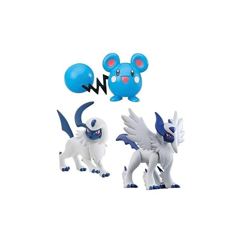 Figura Pokemon Tomy Evolucion Pack