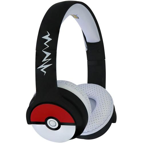 Auscultador OTL Bluetooth Pokemon Pokeball Black