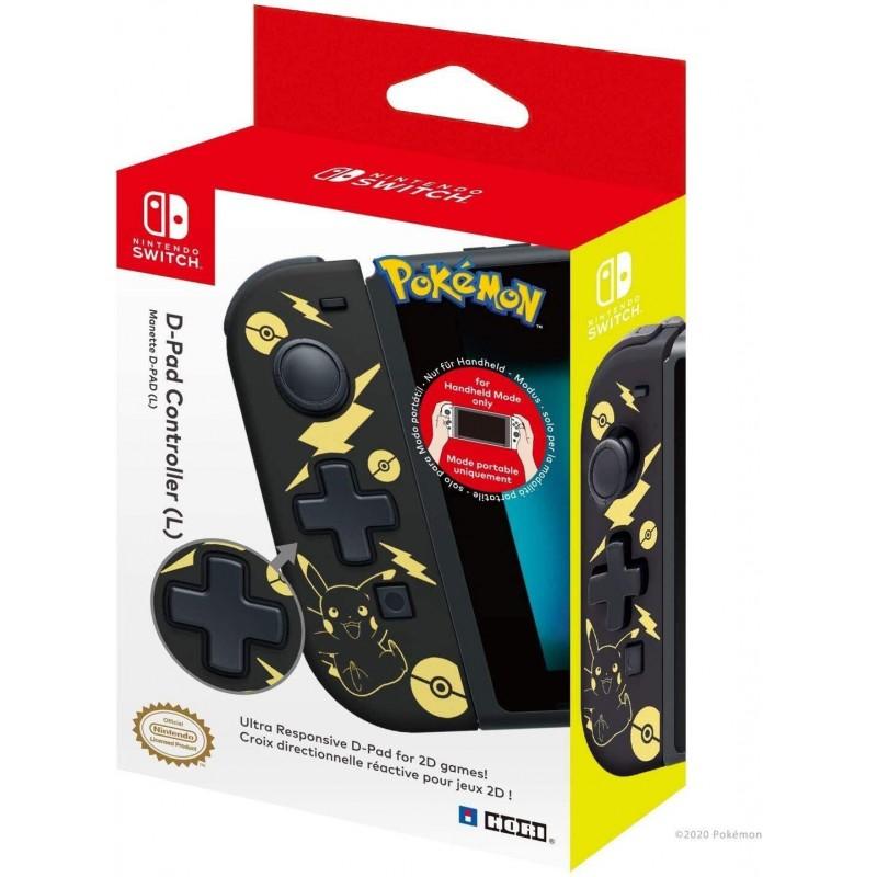 D-Pad Joy-Con Esquerdo Hori Pokemon Pikachu Nintendo Switch