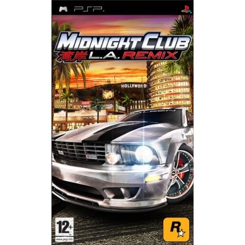 Midnight Club L.A. Remix PSP