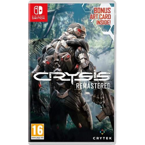 Crysis Remastered Trilogy Nintendo Switch