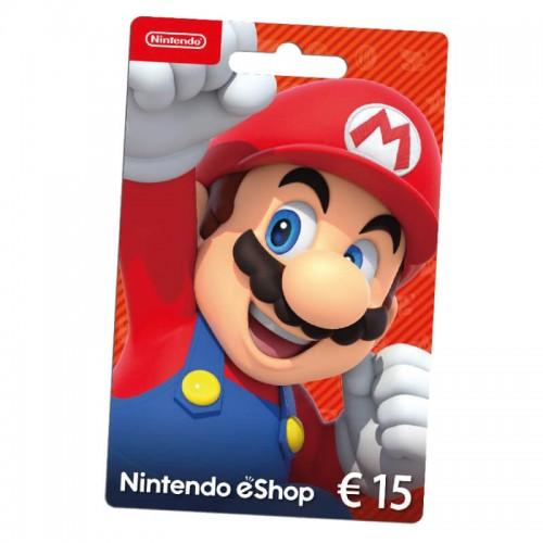 Cartão Nintendo eShop 15€