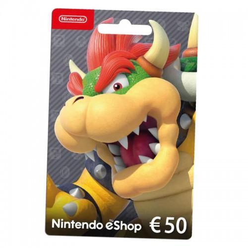 Cartão Nintendo eShop 50€