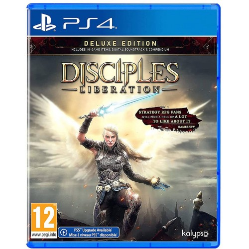 Disciples Liberation Deluxe Edition PS4
