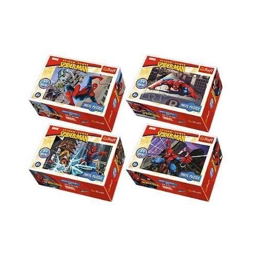 Conj. de 4 Mini Puzzle Homem Aranha