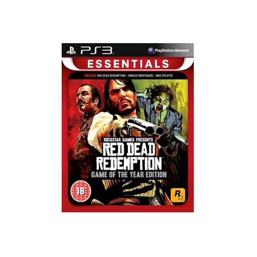 Red Dead Redemption Game Of The Year Edition Essentials PS3