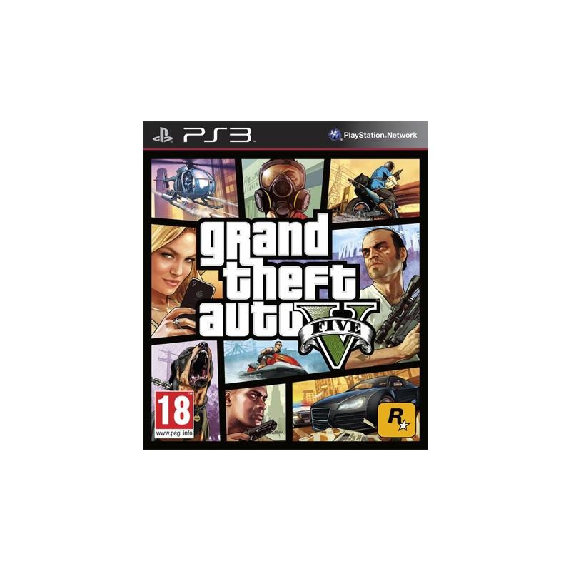 Grand Theft Auto V GTA PS3