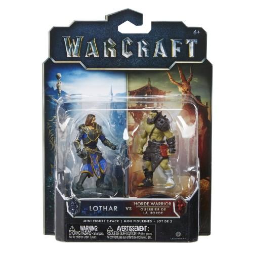 Figura Warcraft - Lothar e Horde Warrior