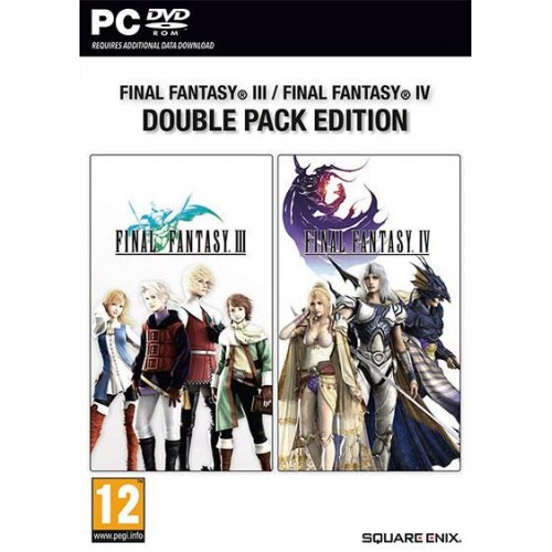 Final Fantasy III & IV Double Pack