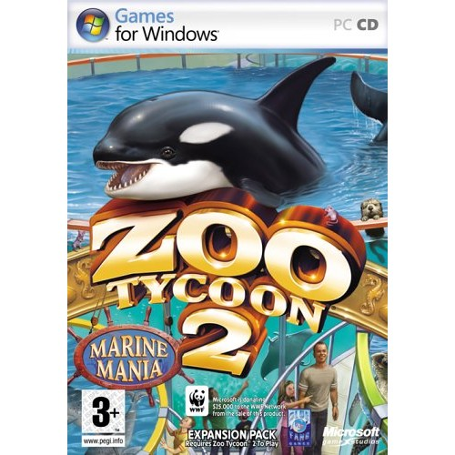 Zoo Tycoon 2 Marine Mania Expansion Pack