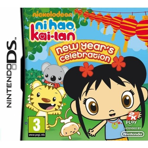 Ni Hao Kai-Lan New Year's Celebration Nintendo DS