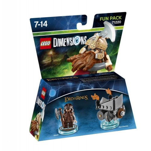 Lego Dimensions Lord of Rings Gimli
