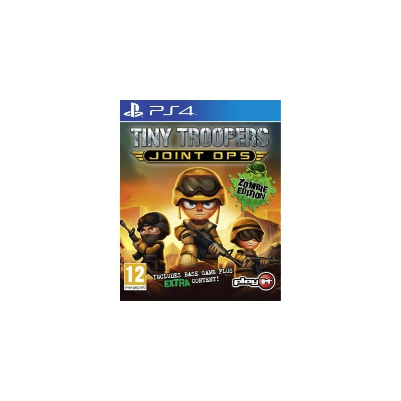 Tiny Troopers Joint Ops Zombie Edition PS4
