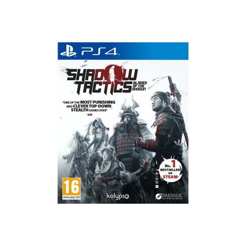 Shadow Tactics Blades of the Shogun PS4