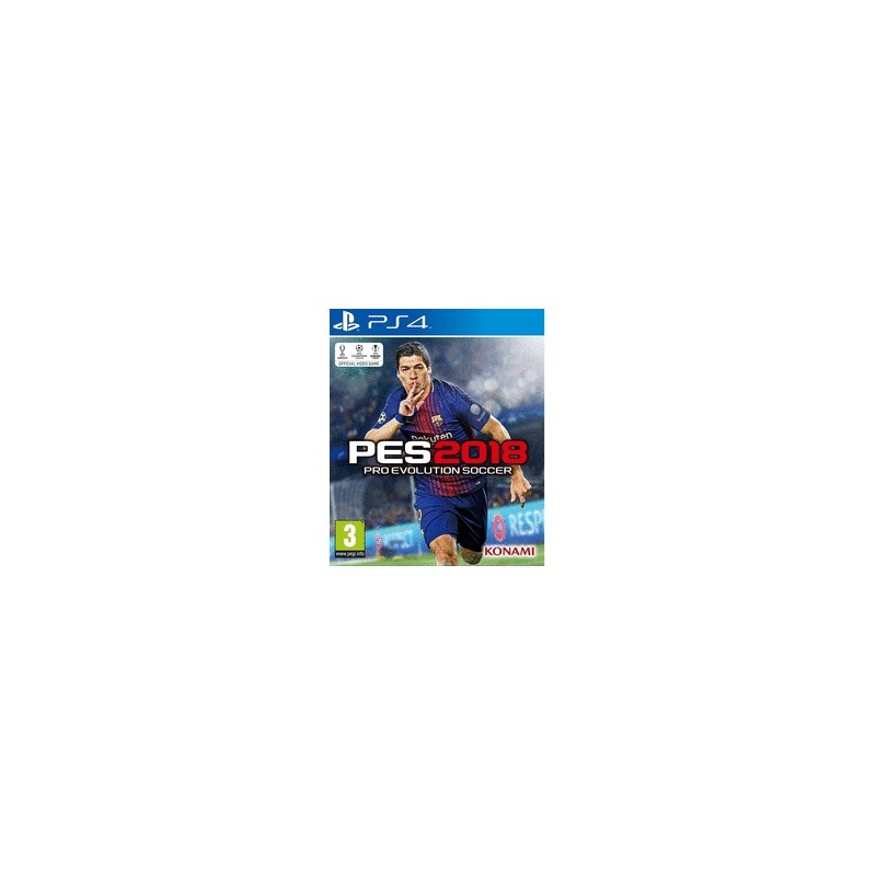 Pro Evolution Soccer 2018 PES PS4