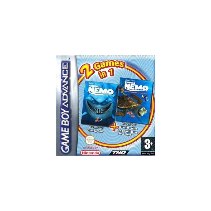 Finding Nemo Double Pack USADO
