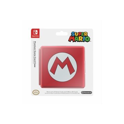 Caixa Jogos PowerA Símbolo M - Super Mario