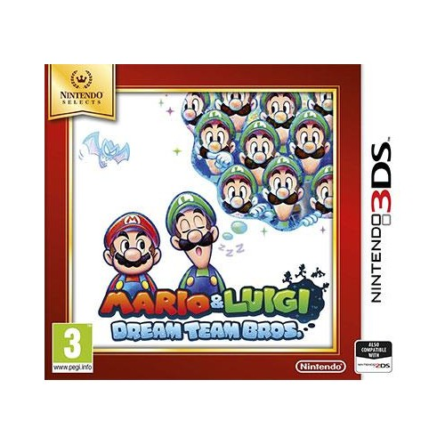 Mario & Luigi Dream Team Bros. Nintendo 3DS