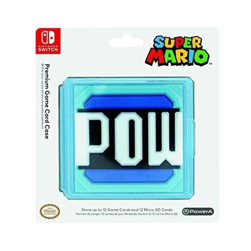 Caixa Armazenamento jogos PowerA Super Mario POW