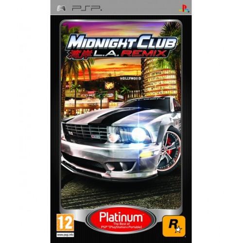 Midnight Club L.A. Remix USADO PSP