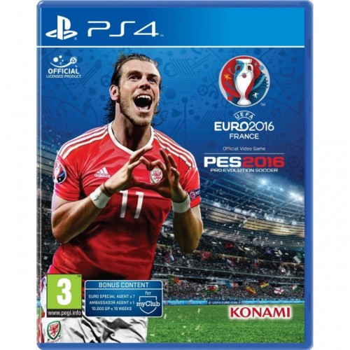 Pro Evolution Soccer 2016 UEFA Euro 2016 France PS4