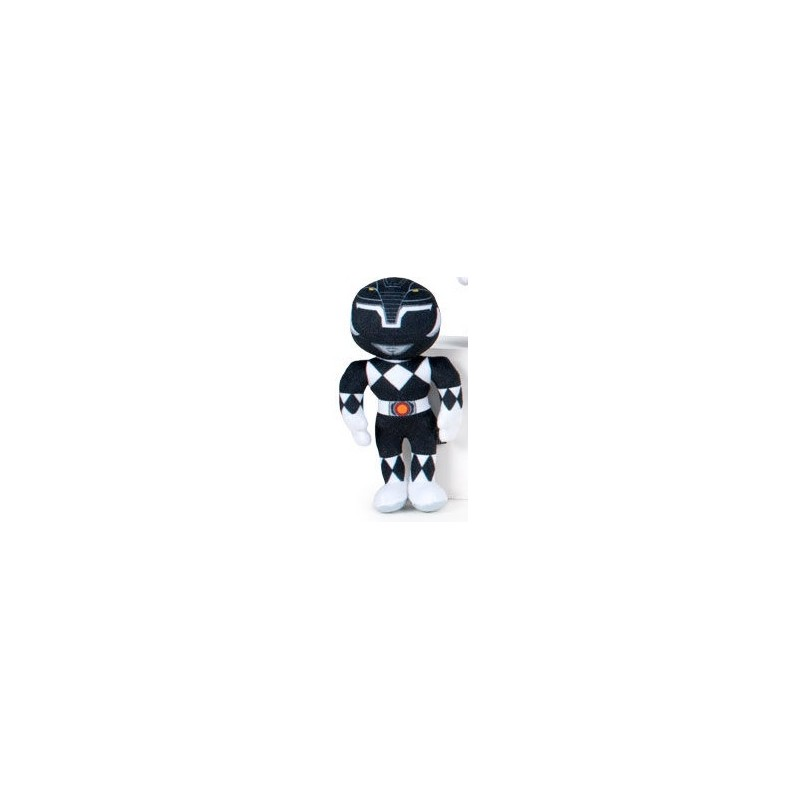 Peluche Power Ranger 20cm - Ranger Preto