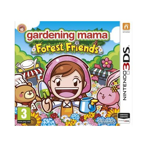 Gardening Mama Forest Friends Nintendo 3DS