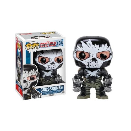 Figura Funko Pop Captain America Civil War Crossbones 134