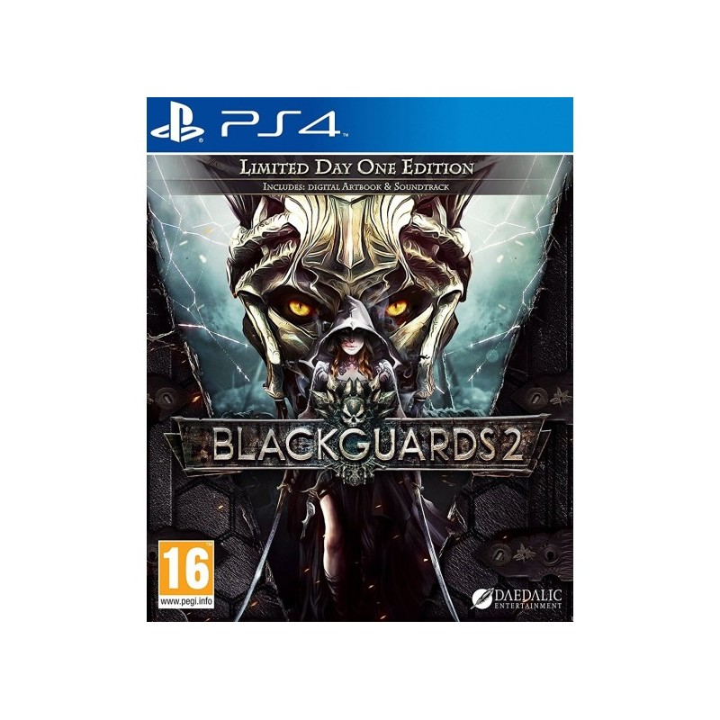 Blackguards 2 Limited Day One Edition USADO PS4