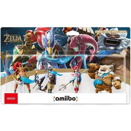 Amiibo The Legend of Zelda Set 4 Figuras