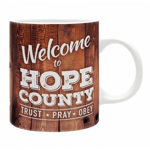 Caneca Far Cry 5 Welcome To Hope County 320ml