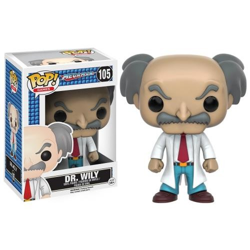Figura Funko Pop Mega Man Dr. Wily 105