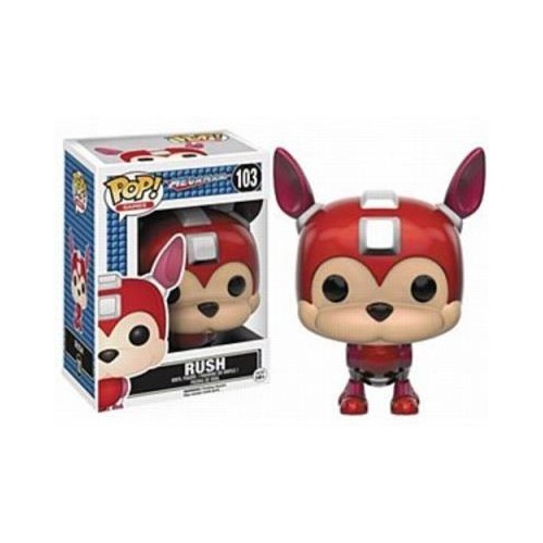 Figura Funko Pop Mega Man Rush 103