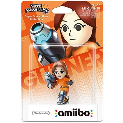 Amiibo Smash Mii Gunner nº50