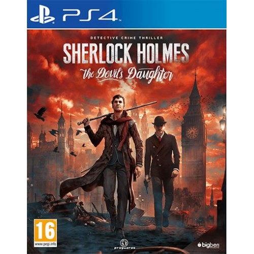Sherlock Holmes The Devil's Daughter PS4