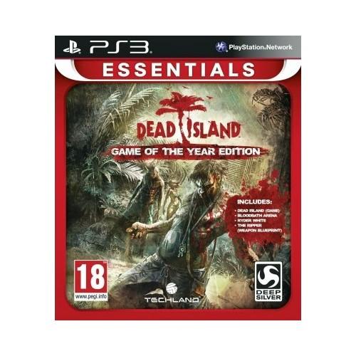 Dead Island GOTY (essentials) USADO PS3