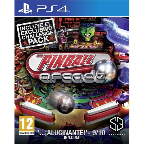The Pinball Arcade PS4