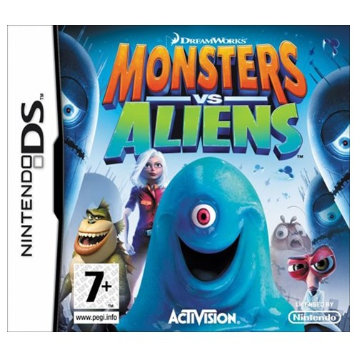 Monsters vs Aliens USADO Nintendo DS