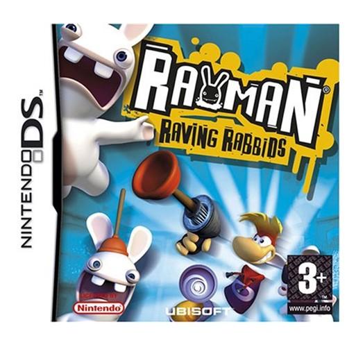 Rayman Raving Rabbids USADO Nintendo DS