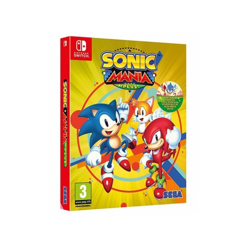Sonic Mania Plus (Disponível 17/07/2018) Nintendo Switch