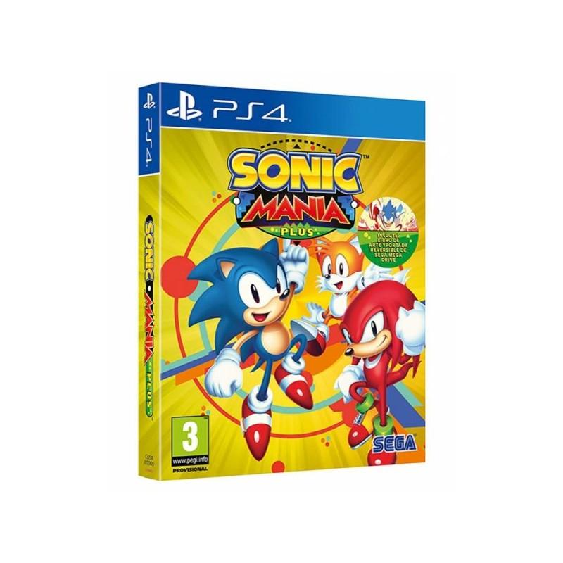 Sonic Mania Plus (Disponível 17/07/2018) PS4
