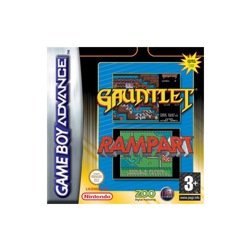 Gauntlet and Rampart (Apenas Cartucho) GBA
