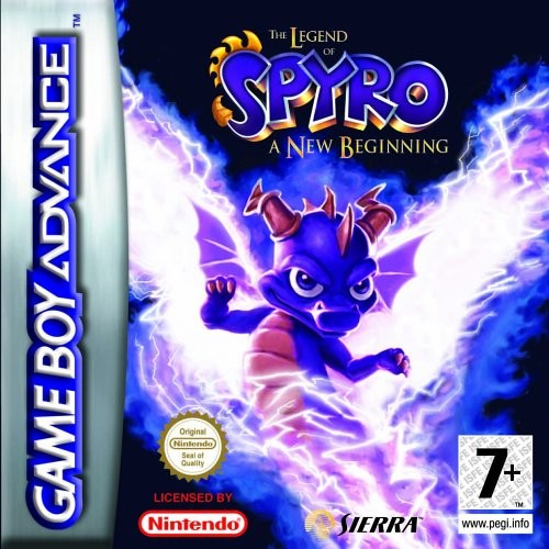 The Legend of Spyro A New Beginning (Apenas Cartucho) GBA