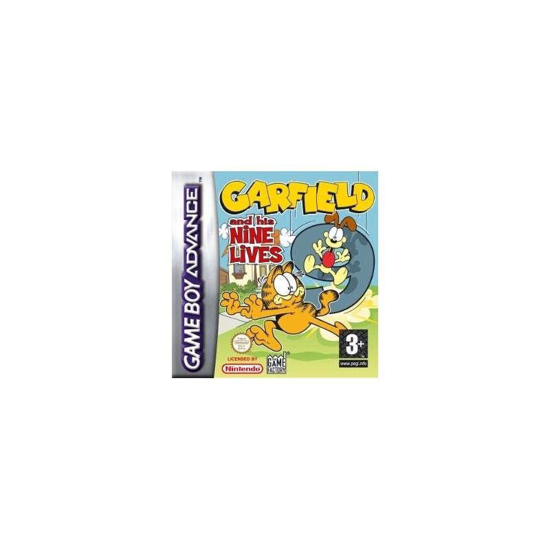 Garfield And His Nine Lives (Apenas Cartucho) GBA