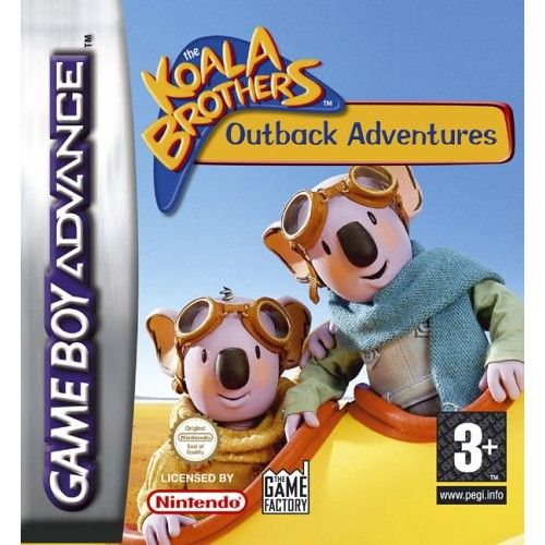 The Koala Brothers Outback Adventures (Apenas Cartucho) GBA
