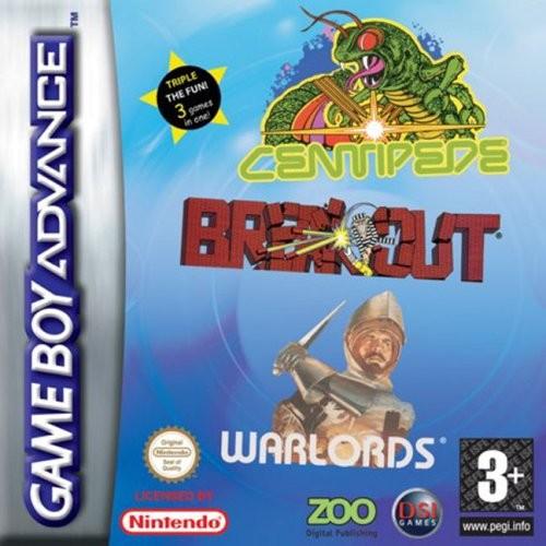 Breakout & Centipede & Warlords (Apenas Carttucho) GBA