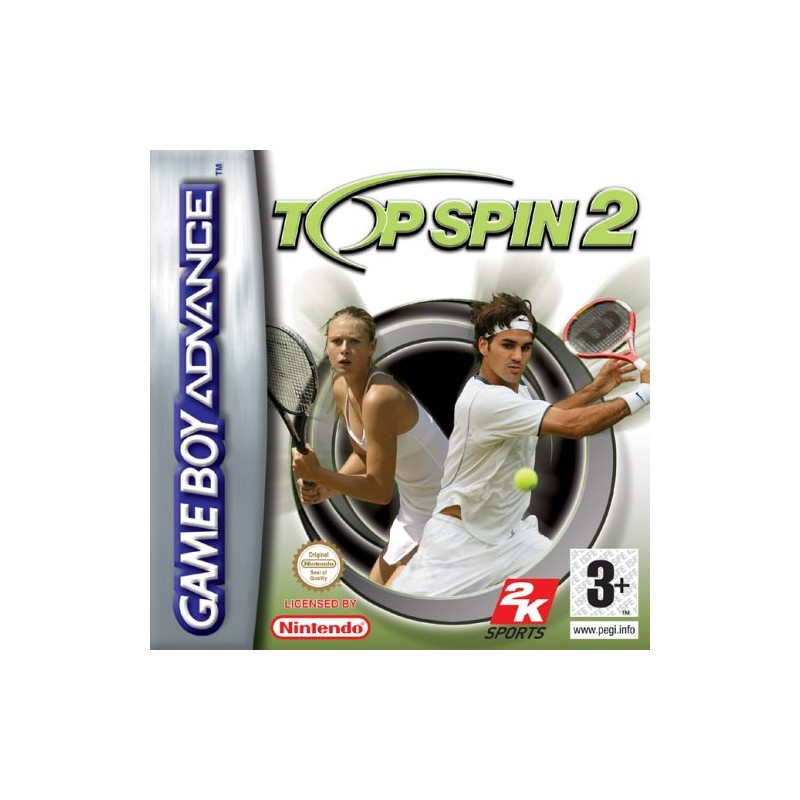 Top Spin 2 (Apenas Cartucho) GBA