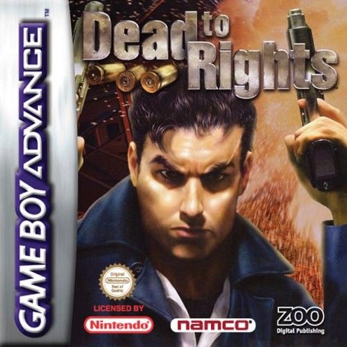 Dead to Rights (Apenas Cartucho) GBA