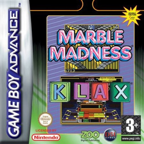 Marble Madness & Klax (Apenas Cartucho) GBA