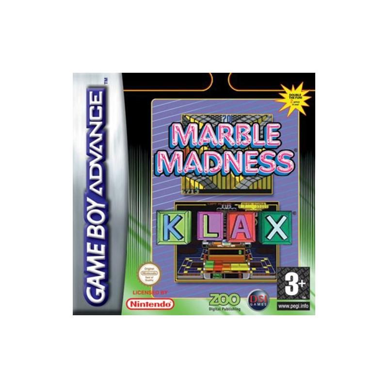 Marble Madness & Klax (Apenas Cartucho) GBA